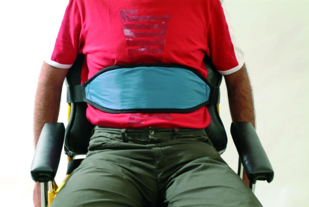 Cintura pettorale per carrozzina biomatrix ausili per ospedali cliniche e assistenza domiciliare - Mobilizzazione paziente emiplegico letto carrozzina ...